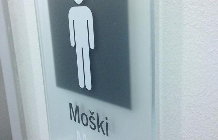 označevanje wc prostorov