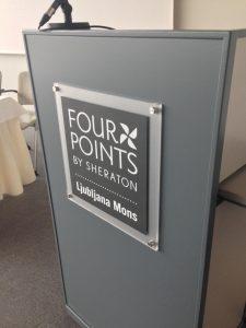 hotel four points by sheraton označevanje prostorov