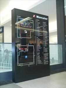 Mercator tabla načrt stavbe