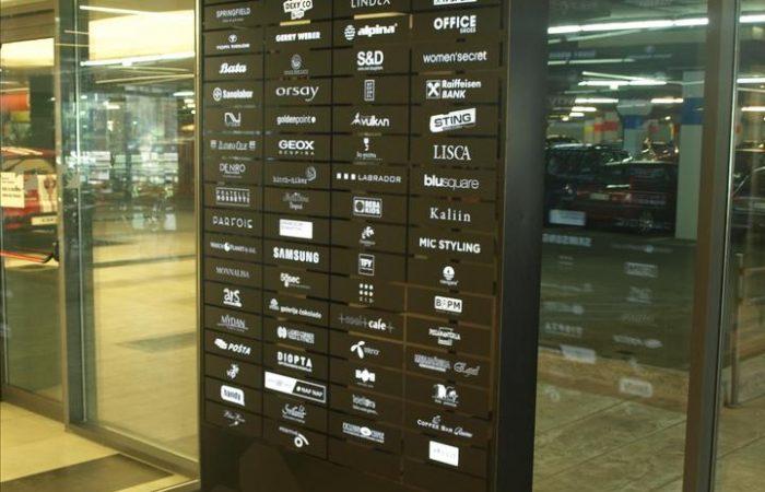 napisna tabla podjetja seznam