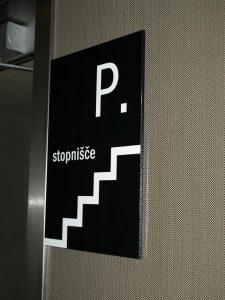 označevanje stopnišča