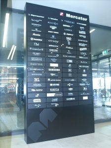 tabla seznam podjetij